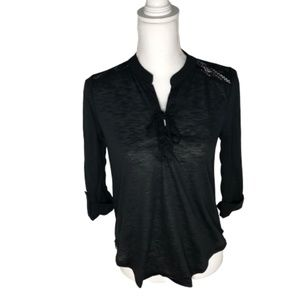 No Boundaries Size S Woman Black Blouse - A1491